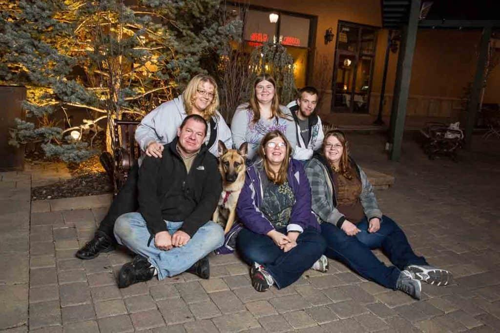 Brian's Family Photo