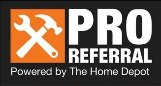 Home Depot Pro Referral Logo